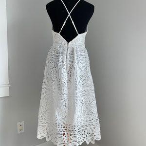 Dresses - White Eyelet Dress